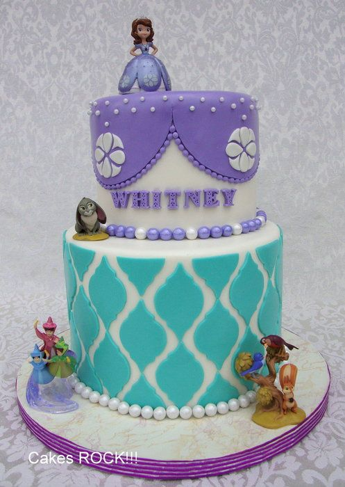 35 Best Sofia The 1st Cakes Images On Pinterest Birthday Party