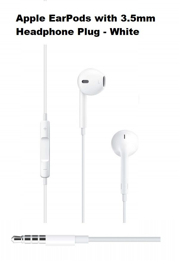 Apple Earpods With 3 5mm Headphone Plug Apple Headphone Plugs