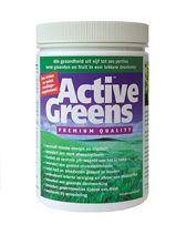Active Greens 270 G - Active Greens� is een nieuw en uniek voedingssupplement dat het lichaam van alle belangrijke vitaminen, mineralen, aminozuren, enzymen en antioxidanten voorziet. Active Greens� herstelt en bewaakt de neutrale pH-waarde van het lichaam. Dat is een zeer belangrijke voorwaarde voor een goede gezondheid en helpt om langer jong te blijven en gezond oud te worden. - het verschaft nieuwe energie en vitaliteit - het bevordert een sterk afweersysteem - het herstelt de neutrale…