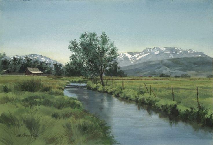33 Best Artist Al Rounds Images On Pinterest Utah Art