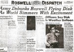 Roswell UFO Incident - Newspaper: