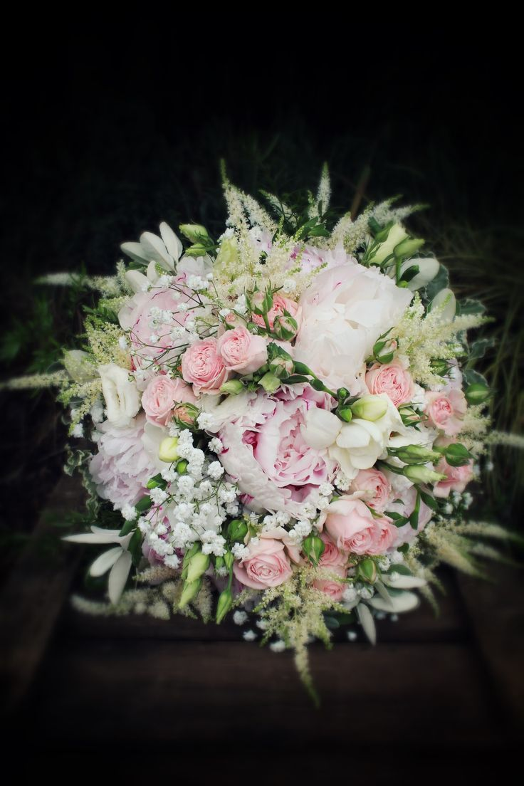 Flowers by shirley garden rose bouquets - Shirley Temple Sarah Bernhardt Blush Peony Roses