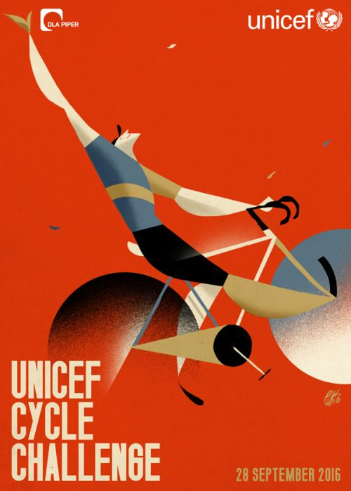 """Unicef Cycle Challenge"" Dla Piper Italy and Unicef for ""Justice for Children""…"