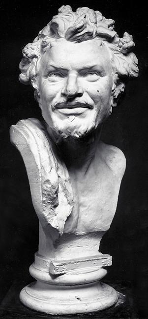 Κεφαλή Σάτυρου (1878) Εθνική Γλυπτοθήκη Μάρμαρο