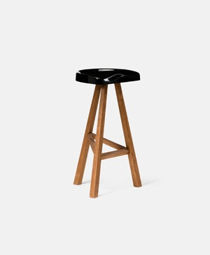 Heidi Chair - High Black by Established and Sons
