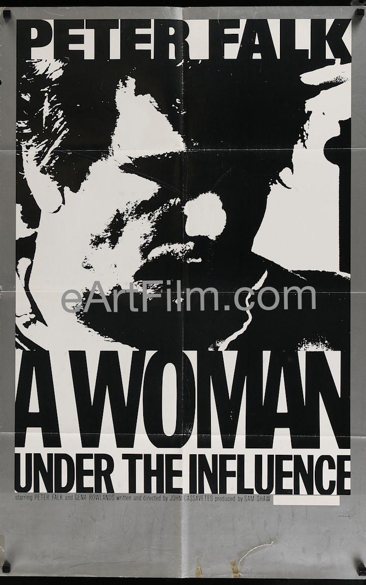 A Woman Under The Influence-John Cassavetes-Gena Rowlands-27x41-1974