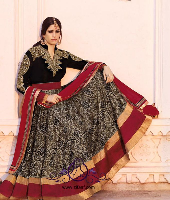 Zifaaf.com Buy Bollywood Replicas, Designer Suits, Anarkali, Frocks, Gowns, Salwars and Bridal Wears. Buy Unstitched and Semi Stitched Salwars and Lehengas at www.zifaaf.com