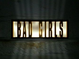 "This is a TV drama in the UK about incarcerated women. The label ""bad girls"" or ""bad boys"" turns real, complicated men and women into misbehaving children. They dismiss the ""why"" and focus on the ""what."""