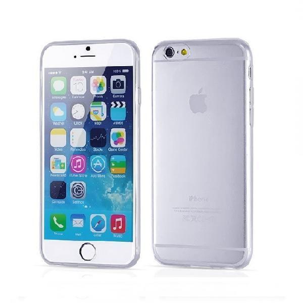 Πολύ Λεπτή Θήκη Σιλικόνης - Ultra Thin Silicone Case Διαφάνο (iPhone 6 Plus) - myThiki.gr - Θήκες Κινητών-Αξεσουάρ για Smartphones και Tablets - Σιλικόνη Διάφανη