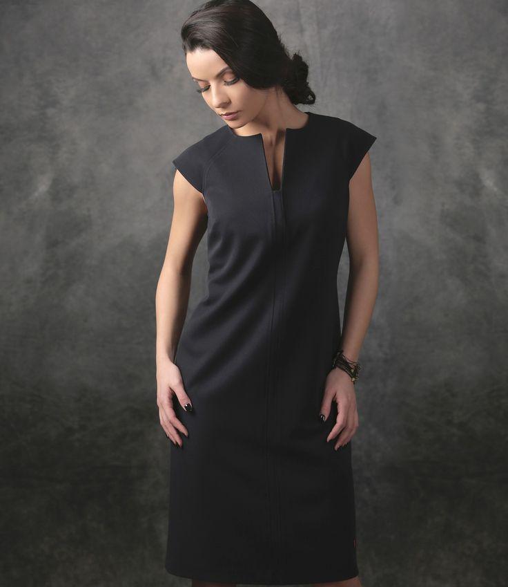 TILDA dress YOKKO |spring17 #new #bleumarine #dress #springcollection #day #outfit #womwn #yokko #style