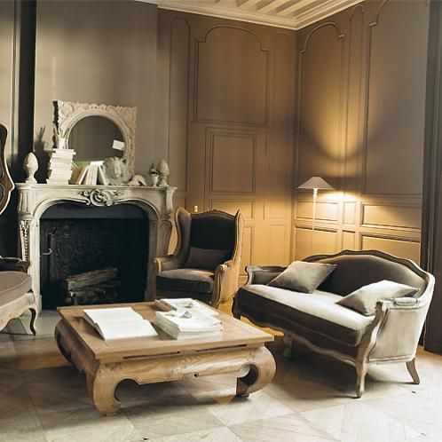 35 best images about maison du monde on pinterest for Classic taupe living room