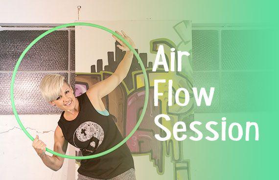 Air Flow Session – Hoop Dance Tutorial | Learn How to Hula Hoop | Hula Hoop Dance Videos and Tutorials | HOOPLOVERS.TV