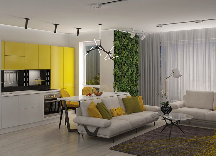 Modern Style Living Room By Victoria Semenets Interior Design Course Student In European