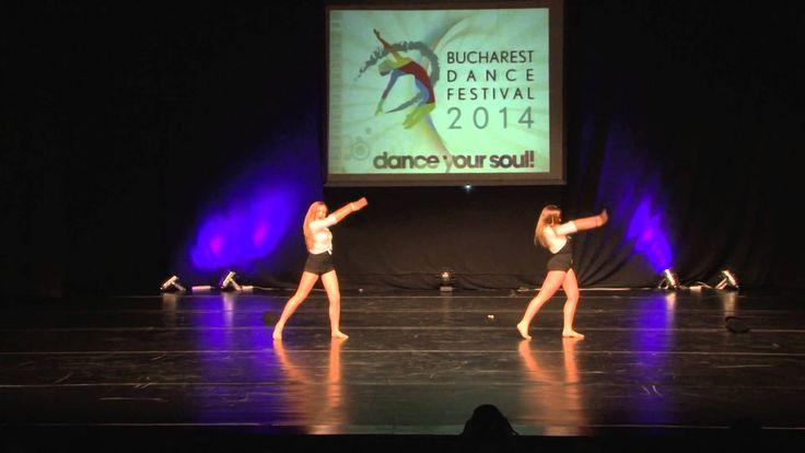 LOTUS DANCE STUDIO [DIAMOND DUO]  Stefy si Crina - ACRO DANCE #BucharestDanceFestival2014 #Dancers #dance #dancefestival #RomanianDanceFestival #RomanianDanceCompetion