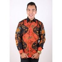 Kemeja Batik Trusmi Pria Hitam Manis Daun Dasar Hitam Orange  Jenis bahan : Katun Halus Harga: Rp. 235.000 Size: M,L,XL ----------------------------------------------------------------------------- Info Order, hubungi Team Marketing Online kami [Open Reseller & Dropship] --> Phone/SMS/Whatsapp/Line : Dian : 081564690003 | PIN BB: 57FA23DC Linda: 085864040786 | PIN BB: 57E93563 Kiki : 089665271943 | PIN BB: 79FCA1A9 Viny : 085724290097 | PIN BB: 56F40C1A ebatiktrusmi.com