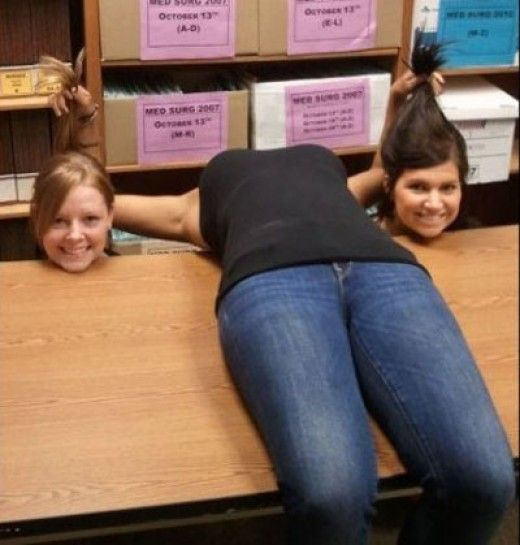 The new planking - horsemanning.
