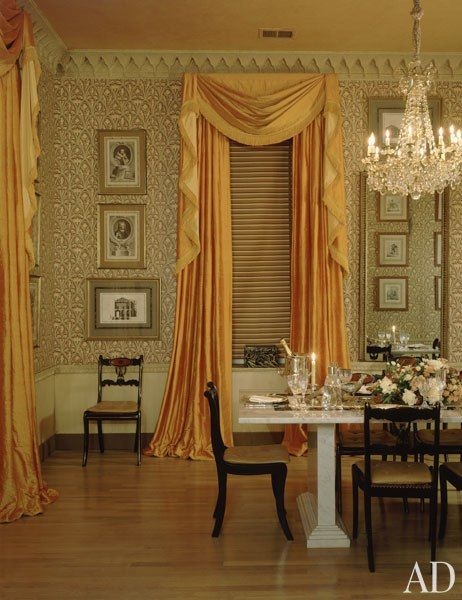 As 25 melhores ideias de colorful curtains no pinterest for Dining room no windows
