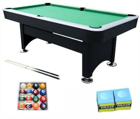 Pool & Billiards Table - Pub Size 7 Foot Long in Green