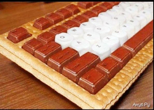 Chocolate keyboard!