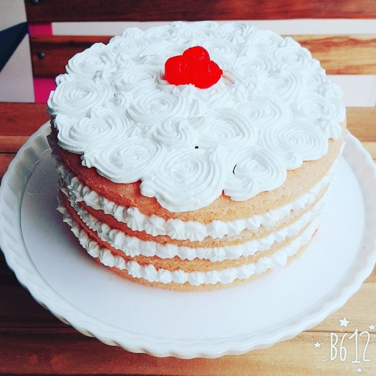 Cherry cake by TRYS SyT