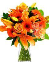 lilie a gerbery - květiny online
