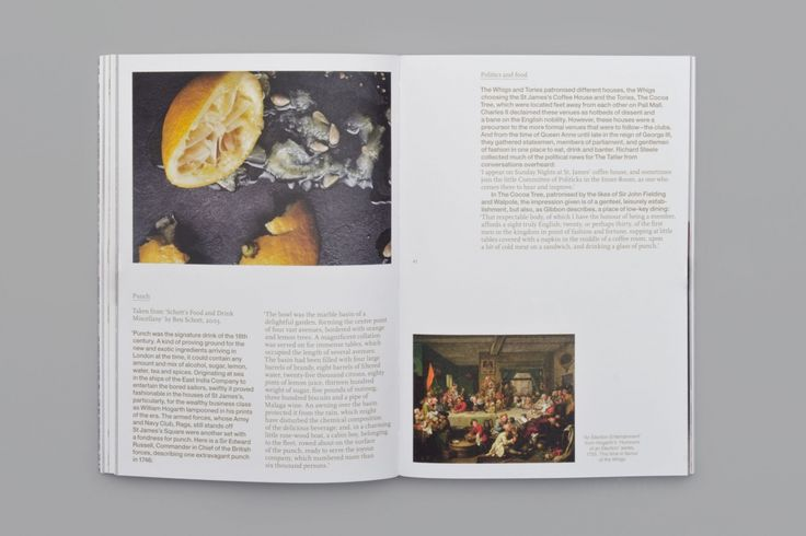No. 1 Regent Street. Food photography.