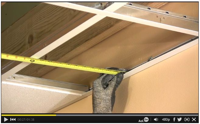 how to cut subfloor along wall