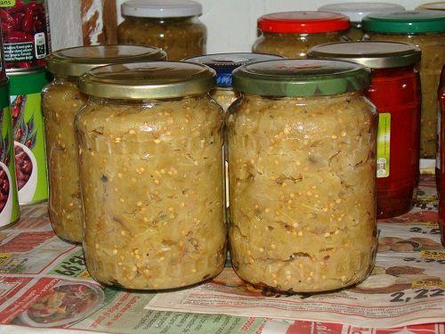 Vinete tocate conservate   Bucatarie Traditionala Retete Culinare