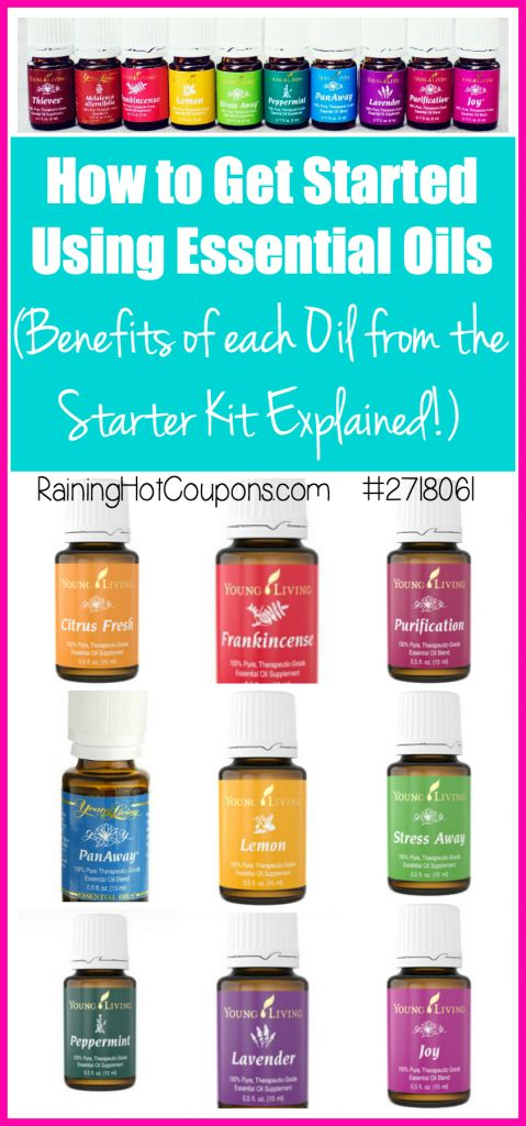 How to Get Started Using Essential Oils (Benefits of EACH Oil from the Starter Kit Explained!)