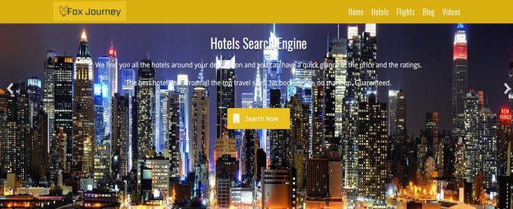 Fox Journey- Find Worldwide Hotel Search Engine: Find Worldwide Luxury Hotels and Resorts with Fox ...