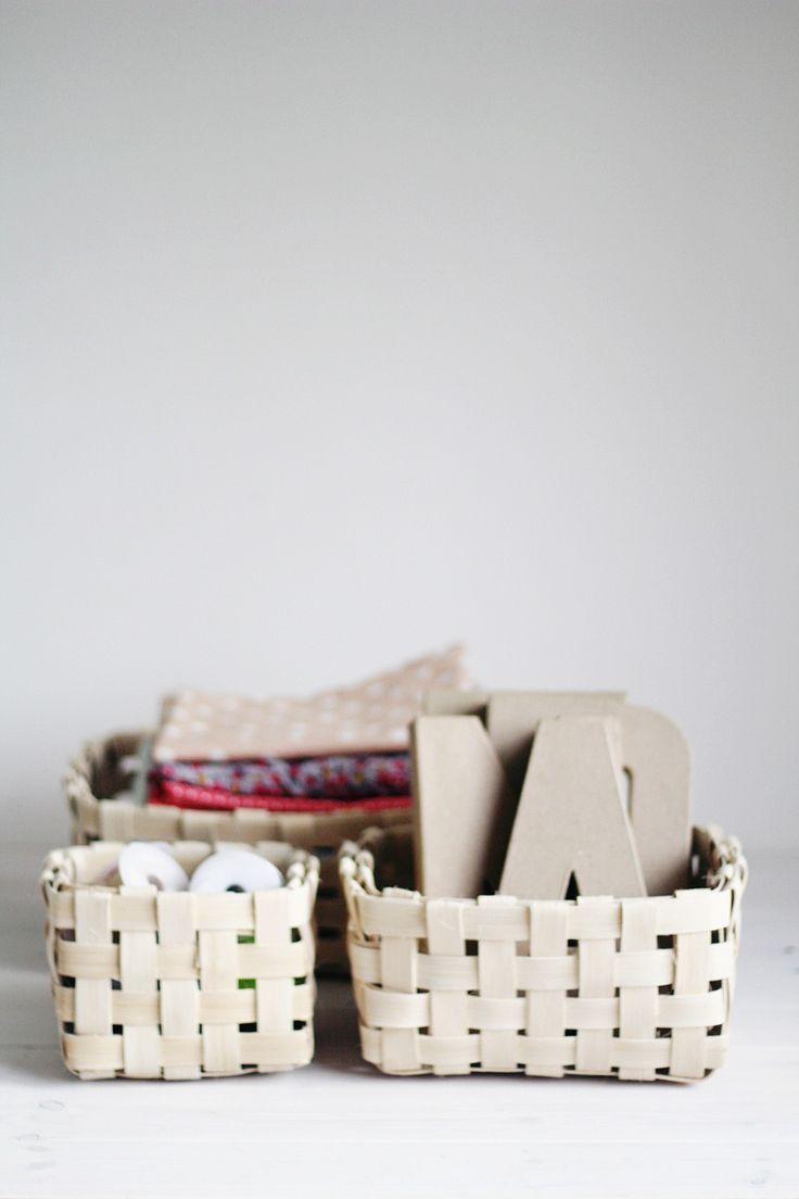 DIY Woven Baskets trio | www.homeology.co.za
