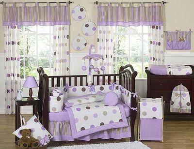 Fotos Dormitorios para Bebés Mujercitas en Lila