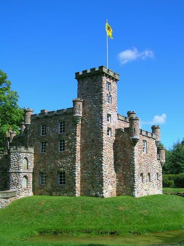 Dunvegan Castle replica at Woodleigh, Kensington, Prince Edward Island, eastern CANADA