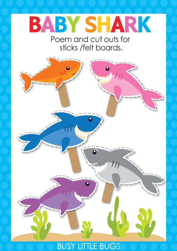 Baby Shark Do Do Do Do Do Do Kids Love Singing And Finger Plays Are Great For Language Development And Muscular Co Baby Shark Baby Shark Music Finger Plays