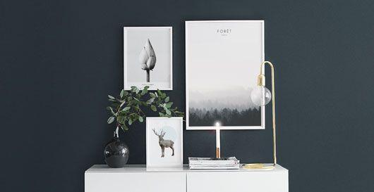 Svart-hvitt fotografier, fotokunst på plakater og posters.