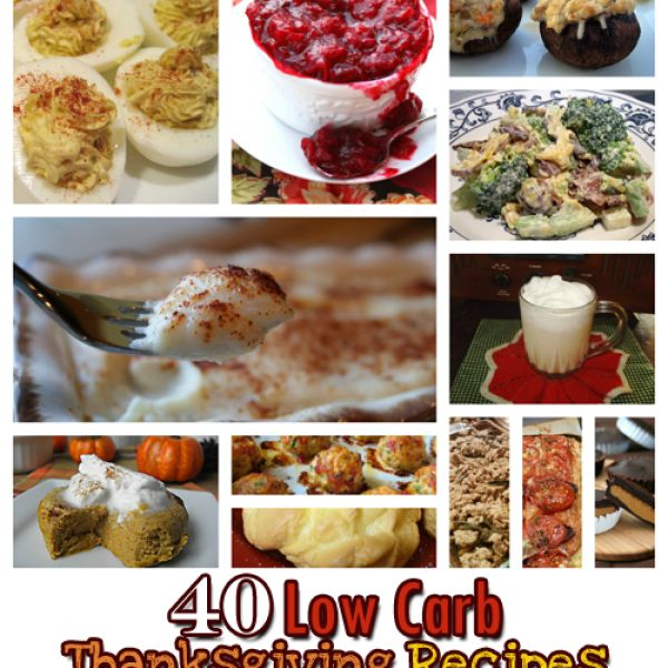 40 Low Carb Thanksgiving Recipes - The Miracle Momma #Thanksgiving #recipe #Thanksgiving #Recipe #Turkey #Holiday