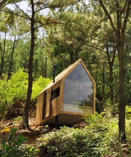 Les 488 meilleures images du tableau architecture sur - Zen forest house seulement pour cette maison en bois ...