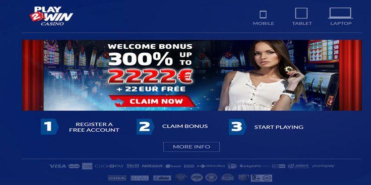 Play2win casino CLAIM BONUS