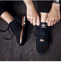 Adidas- Matte and Rose Gold