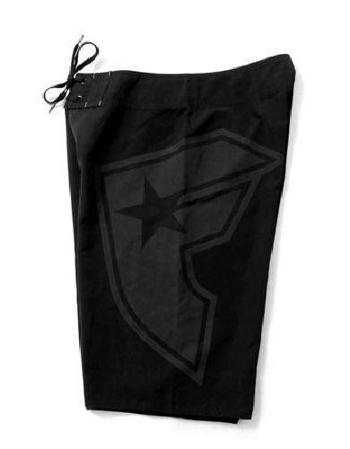 Famous Stars and Straps Big BOH Boardshorts / Black