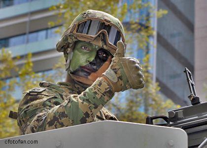 206 Mexico's Traditional Independence Day Military Parade, Mexico City, last part…206 Desfile Militar Conmemorativo del 16 de septiembre, Ciudad de México, últimaparte