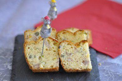 Cake salé thon maïs et câpres