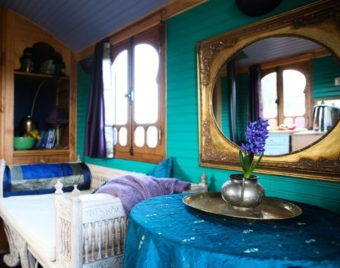 The interior of Devanna will reflect the rich natural shades of blues, greens, purples and gold of the peacock's rich plumage.