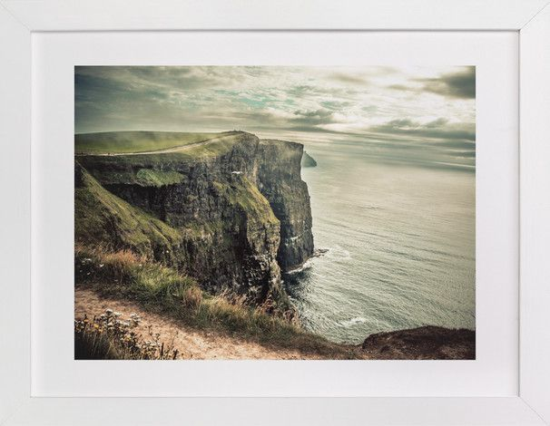 Cliffs of Moher in Color by AR Photography at minted.com