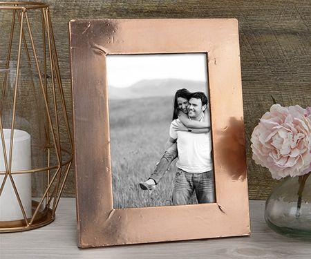 copper photo frame