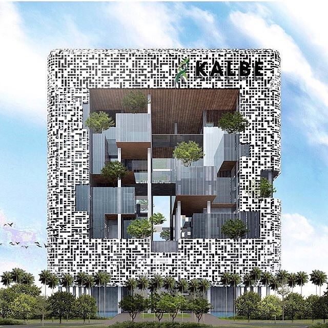 Amazing Architecture On Instagram Kalbe Headquarter Jakarta By Budiman Hendropurnomo Denton Corker Amazing Architecture Architecture Architecture Exterior