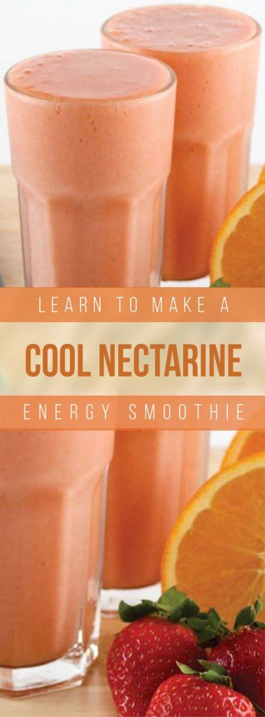 Paleo Cool Nectarine Energy Smoothie Recipe
