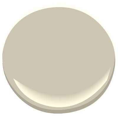 Benjamin Moore Florentine Plaster: its old color name used to be Coastal Fog. The perfect neutral, a warm light gray that changes with the light. Green undertones.