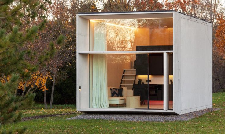Kodasema just launched KODA, a line of tiny prefabricated homes that pop up in just one day so you can move in the day after.
