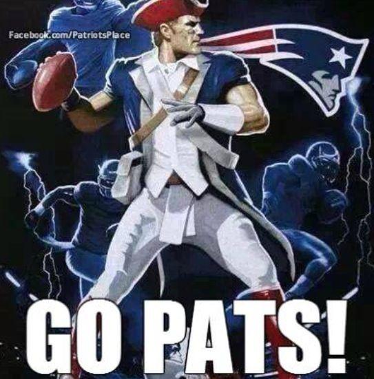 Go Pats!